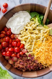 Easy Blt Pasta Salad!