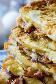 Bacon Stuffed French Toast!
