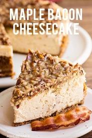 Maple Bacon Cheesecake!