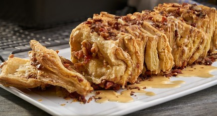 Maple Bacon Pull-apart Puff!