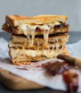 Maple Bacon Grilled Cheese!