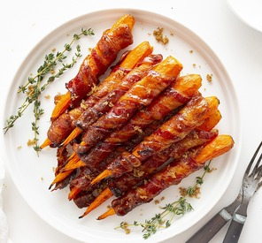 Maple Bacon Carrots!