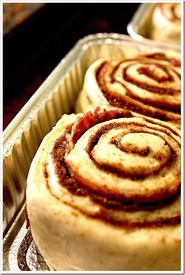 Bacon Swirl Cinnamon Rolls!