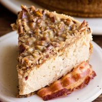 Maple Bacon Cheesecake!