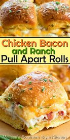 Chicken Bacon Ranch Rolls!
