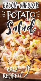 Bacon Cheddar Potato Salad!