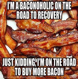 Bacon-o-holic!