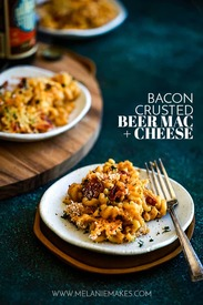 Bacon Crusted Beer Mac & Cheese!