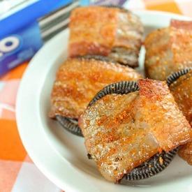 Smoked Bacon Wrapped Oreos!
