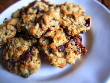 Oatmeal Raisin & Bacon Cookies!