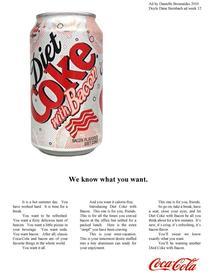 Bacon Diet Coke!