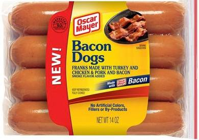 Bacon Hot Dogs!