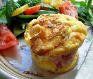 Bacon & Cheese Souffle!