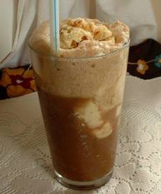 Maple Bacon Bourbon Root Beer Float!