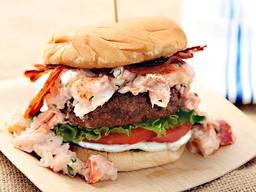 Surf N' Turf Burger!