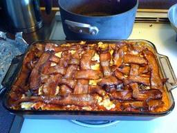 Bacon Lasagna!