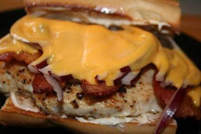 Lemon Pepper Bacon Crusted Chicken Sandwich!