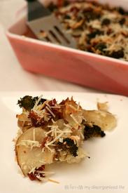 Bacon & Broccoli Potatoes Au Gratin!