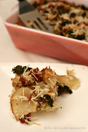 Bacon & Broccoli Potatoes Au Gratin!