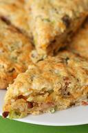 Bacon & Cheddar Scones!