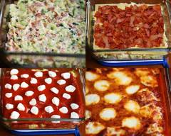 Zucchini & Bacon 3 Cheese Lasagna!