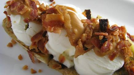Elvis Bacon Banana Split!