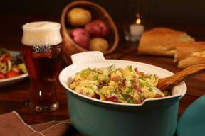 Bacon & Beer Potato Salad!