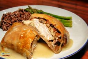 Chicken Bacon Wellington!