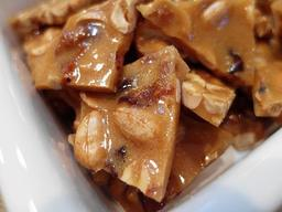 Hard Cider Peanut Brittle With Maple And Bacon!