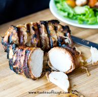 Bacon Wrapped Bbq Chicken!