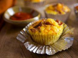 Bacon Breakfast Cupcakes!