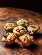 Banana Bacon Mini Muffins!