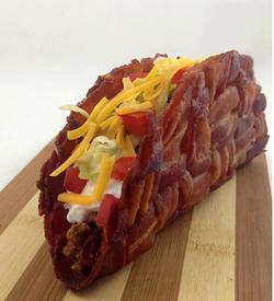 Bacon Weave Taco!