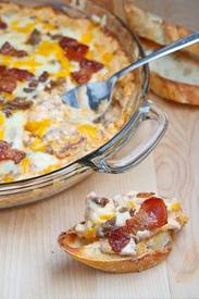 Bacon Double Cheeseburger Dip!