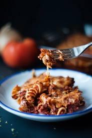 Beef & Bacon Pasta!
