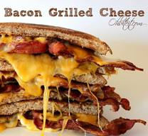 Button Buster Bacon Grilled Cheese!