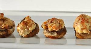Bacon & Cream Cheese Stuffed Mushrooms!