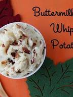 Buttermilk Bacon Whipped Potatoes!