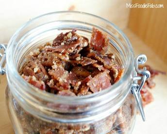 Brown Sugar Bacon Roasted Nuts!