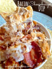 Bacon Cheeseburger Dip!