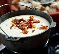 Smoky Bacon & Chipotle Cheese Fondue