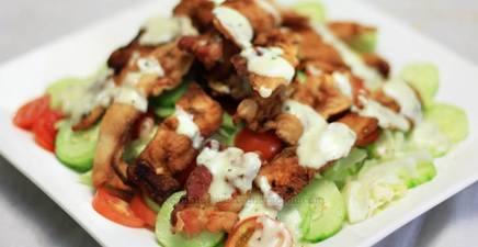 Bacon Tempura Salad!
