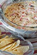 Bubbling Bacon Tomato Dip!