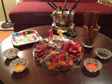 National Chocolate Fondue Day!