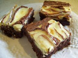 Bacon Cream Cheese Brownies!