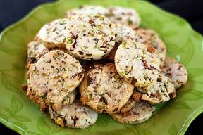 Bacon Pistachio Cookies!