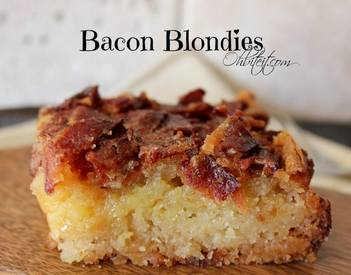 Bacon Blondies!