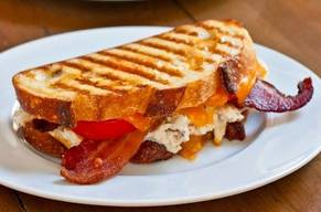 Bacon Crab Panini!