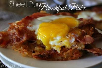 Sheet Pan Breakfast Bake!