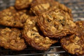 Bacon Raisin Oatmeal Cookies!